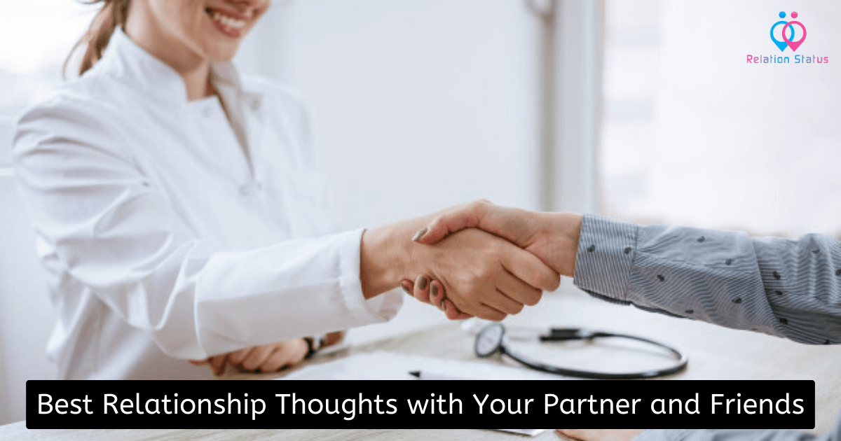 Best Relationship Thoughts with Your Partner and Friends